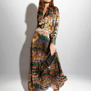 Belted maxi dress high res