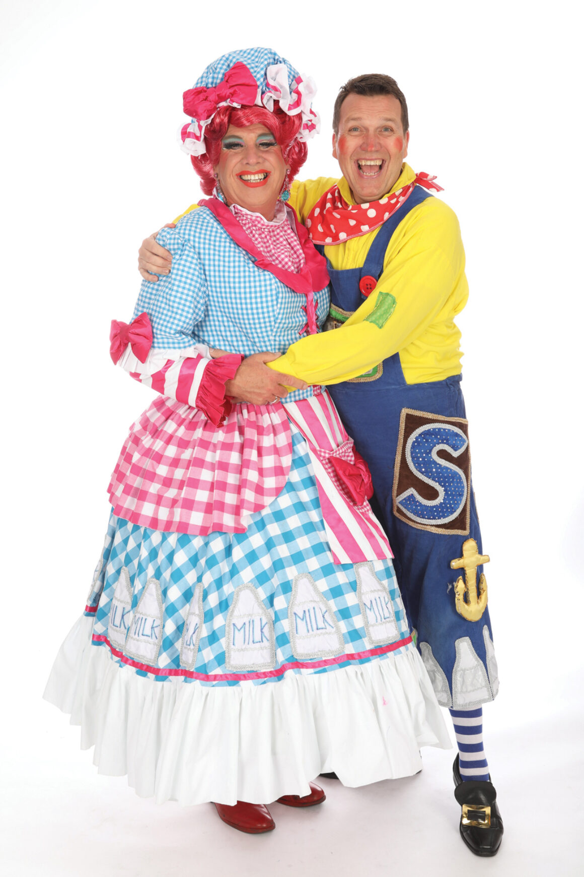 Martyn Knight and Tucker Panto Costume generic