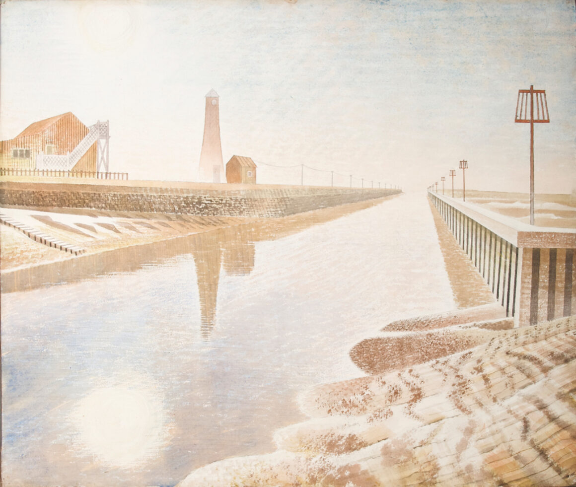 Eric ravilious rye harbour 1938 credit Image courtesy of the Ingram Collection