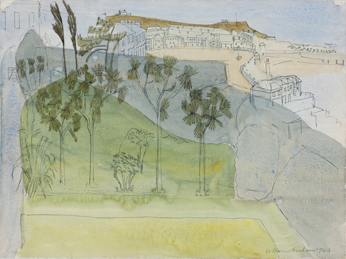 Wilhelmina barns graham untitled view of st ives 1943 credit c Wilhelmina Barns Graham Trust Image courtesy of the Ingram Collection
