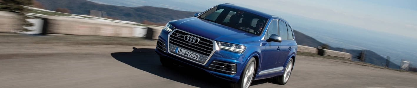 Audi SQ7: beauty and beast combined