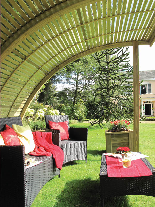 As With All Jacksons Products, The Garden Shelters Are Handmade From  Jakcured Timber, Guaranteed For 25 Years, So You Can Enjoy Them For Many  Years To Come.