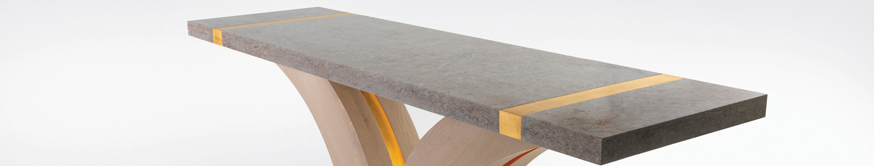 Bespoke table from Rupert McBain and Britannicus Stone