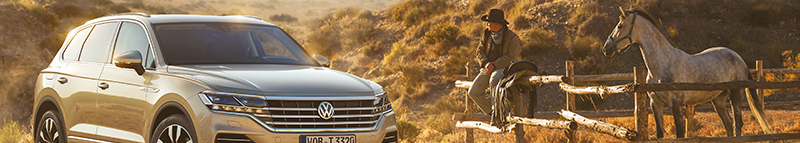 Touareg shapes up for third generation