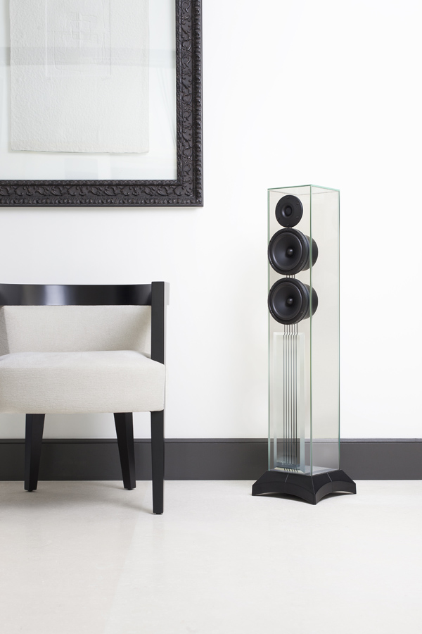 Hi End Speakers Made Of Glass Aspect County Magazine